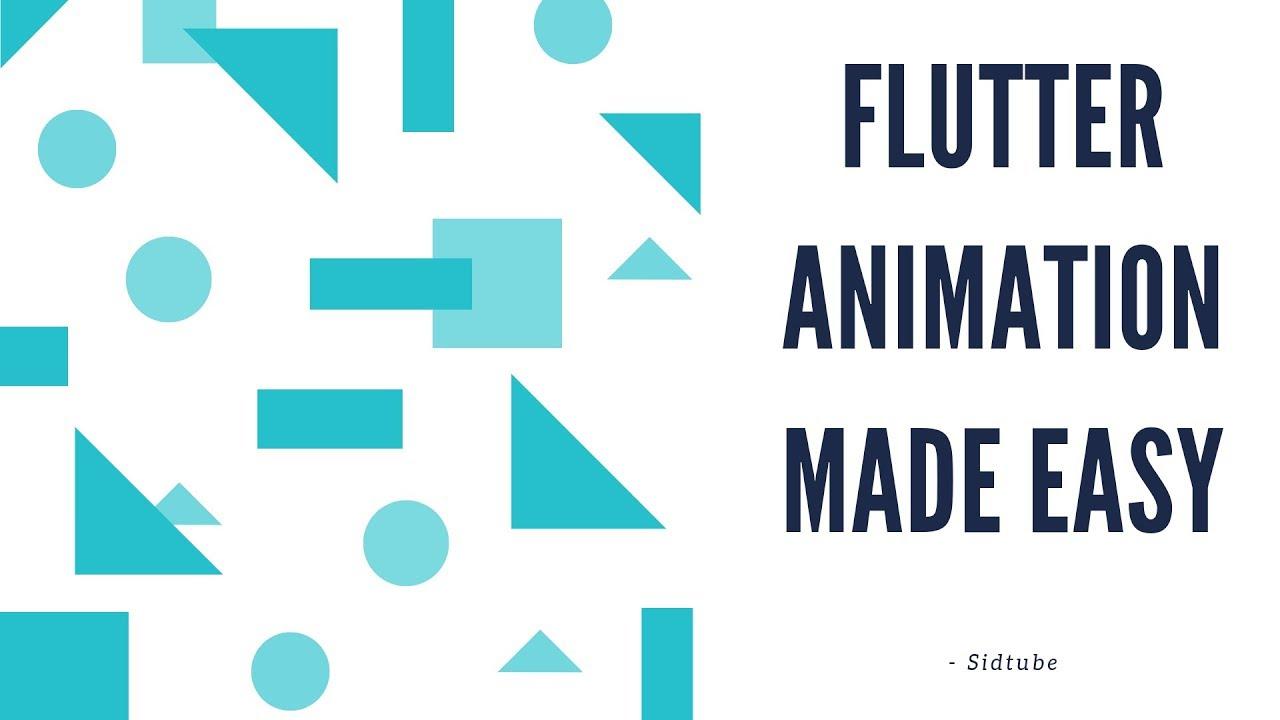 Flutter - Animating listView or widgets (Tutorial)