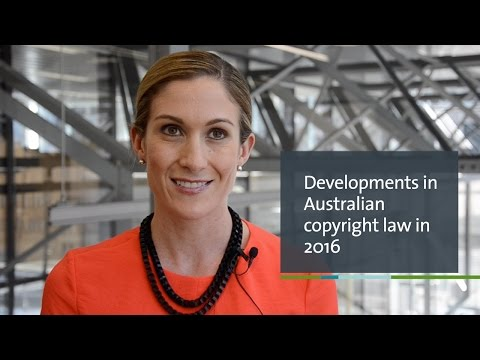 Developments and trends in Australian copyright law