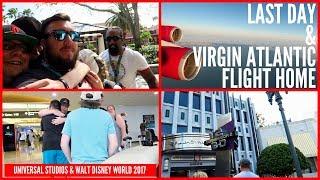 Walt Disney World & Orlando 2017 Vlog 29 - Amazing Last day At Universal Before Flying Home