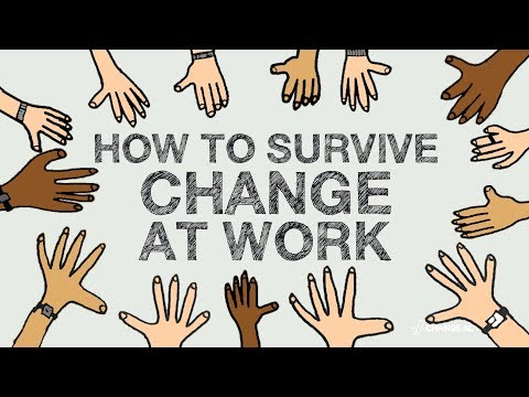 How to Survive Change at Work