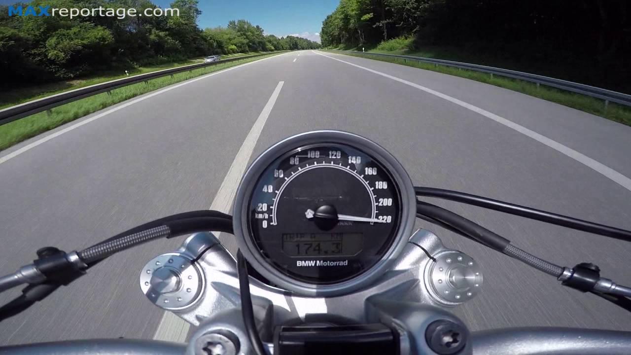 2016 Bmw R Ninet Scrambler 220 Km  H On German Highway