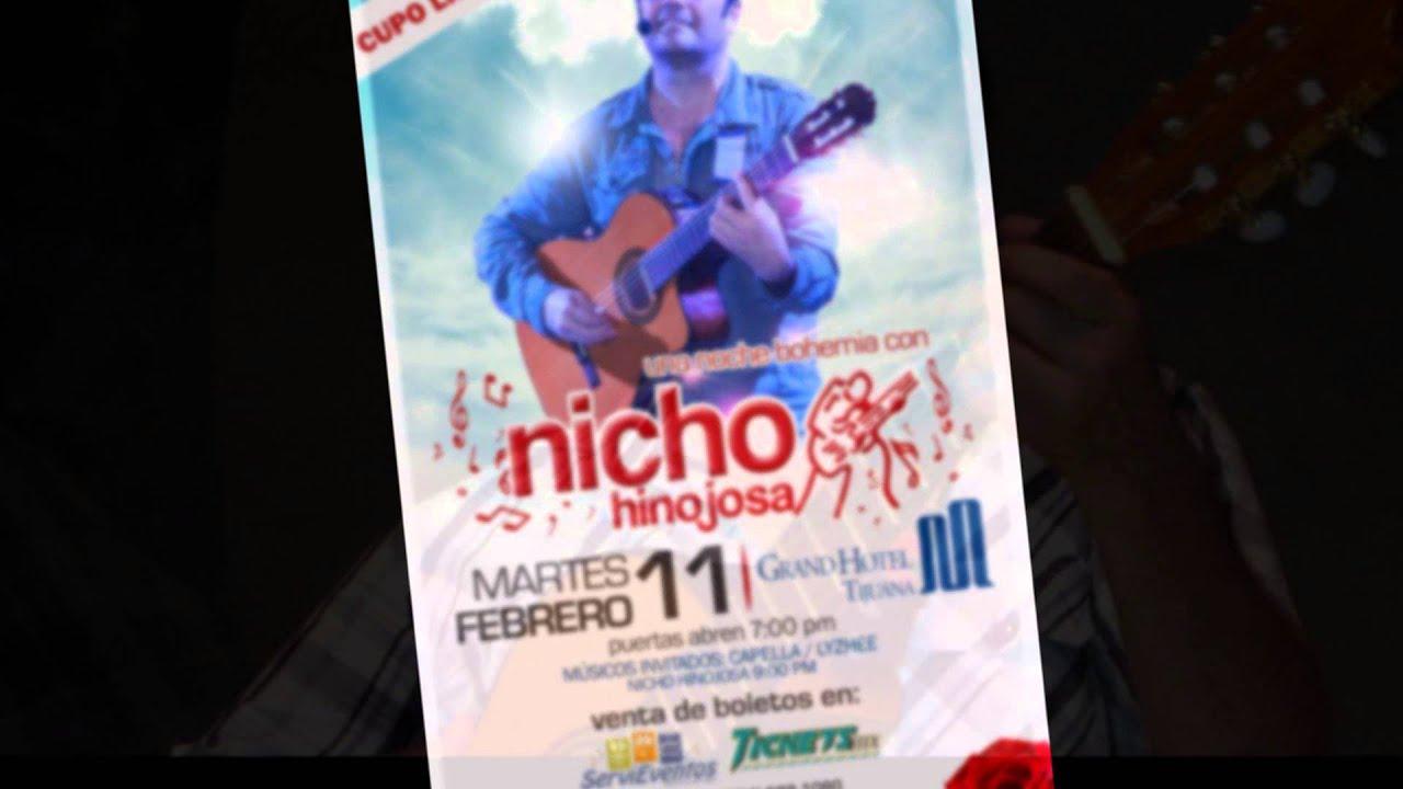 Nicho Hinojosa 11 Febrero 2014 Grand Hotel Tijuana