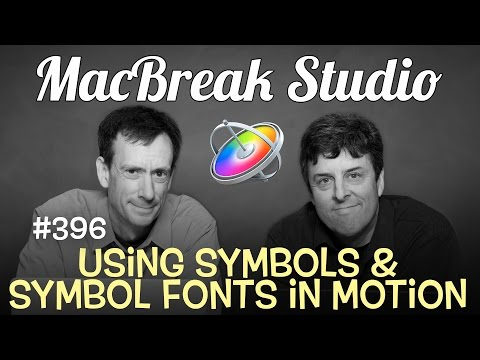 Symbols & Symbol Fonts in Motion and Final Cut Pro X by Mark Spencer