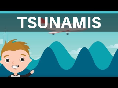 Tsunamis-Tsunami Definition-Tsunami Facts What causes a Tsunami-Tsunami for Kids- Natural Disaster