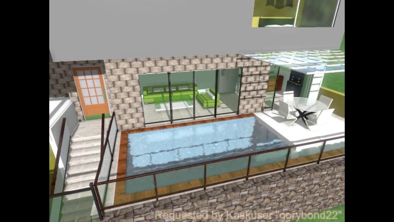 Desain Rumah 8x18 M 144 M2 YouTube