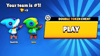 DOUBLE TOKEN REWARD + DOUBLE LEON = HUGE REWARD! // BrawlStars