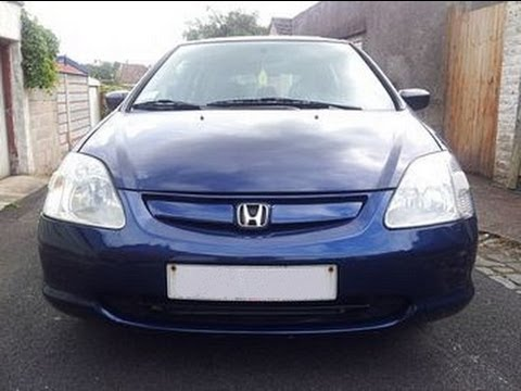 HONDA CIVIC 1.6 VTEC EXECUTIVE 2005. Car Reviews