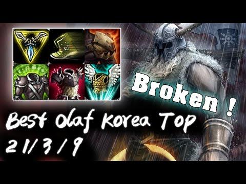 Best Olaf Korea Top vs Maokai | 1 LIKE = 1 PRAY | Korea High Elo