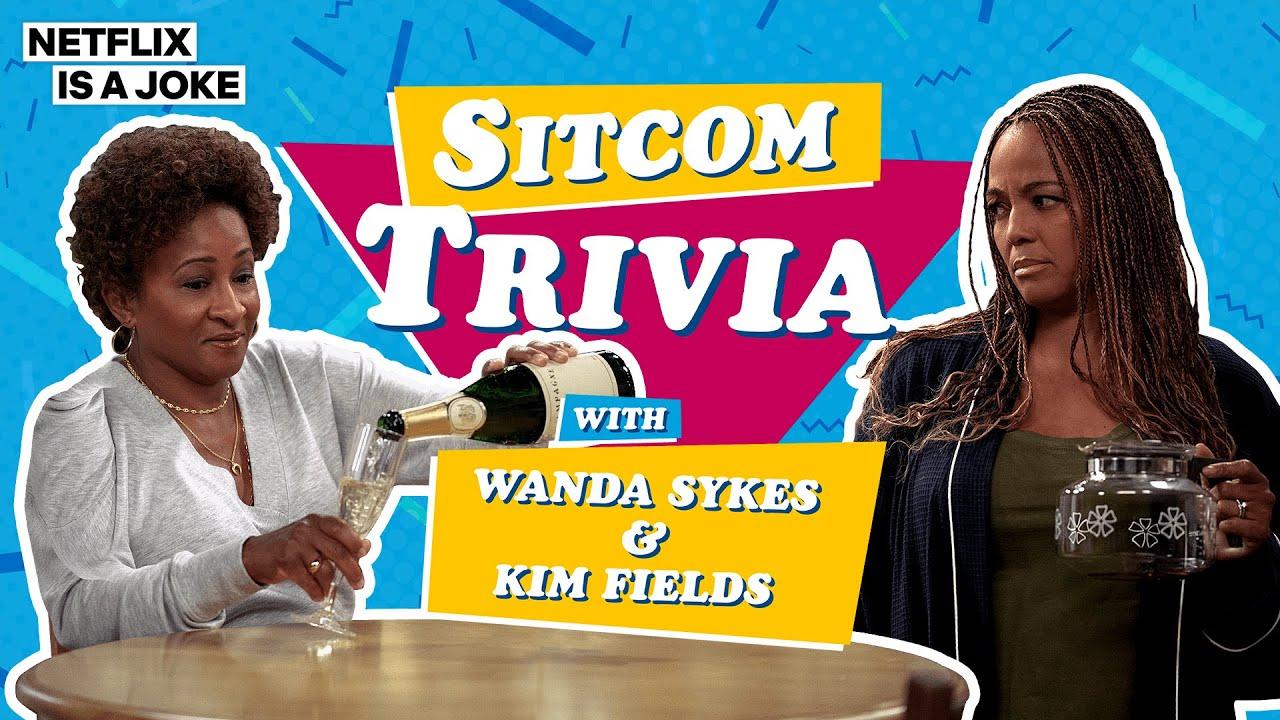 Wandas Sykes and Kim Fields Play Sitcom Trivia