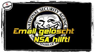 Email gelöscht, NSA hilft! [Feed Flash Infos & News]