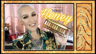 New Urban Decay Naked Honey Palette Overview & Tutorial