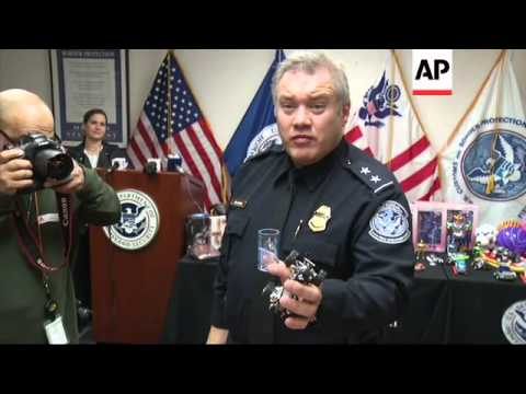 Officials from Customs and Border Protection and the Consumer Product Safety Commission held a press