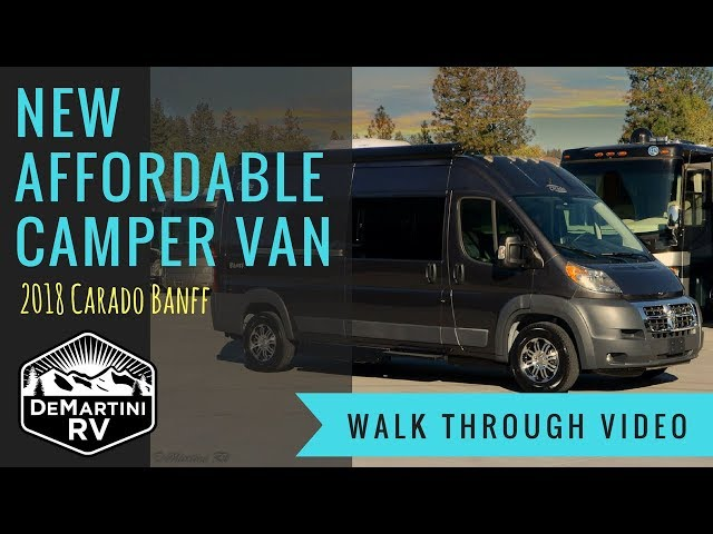 2018 Carado Banff Class B Camper Van by DeMartini RV