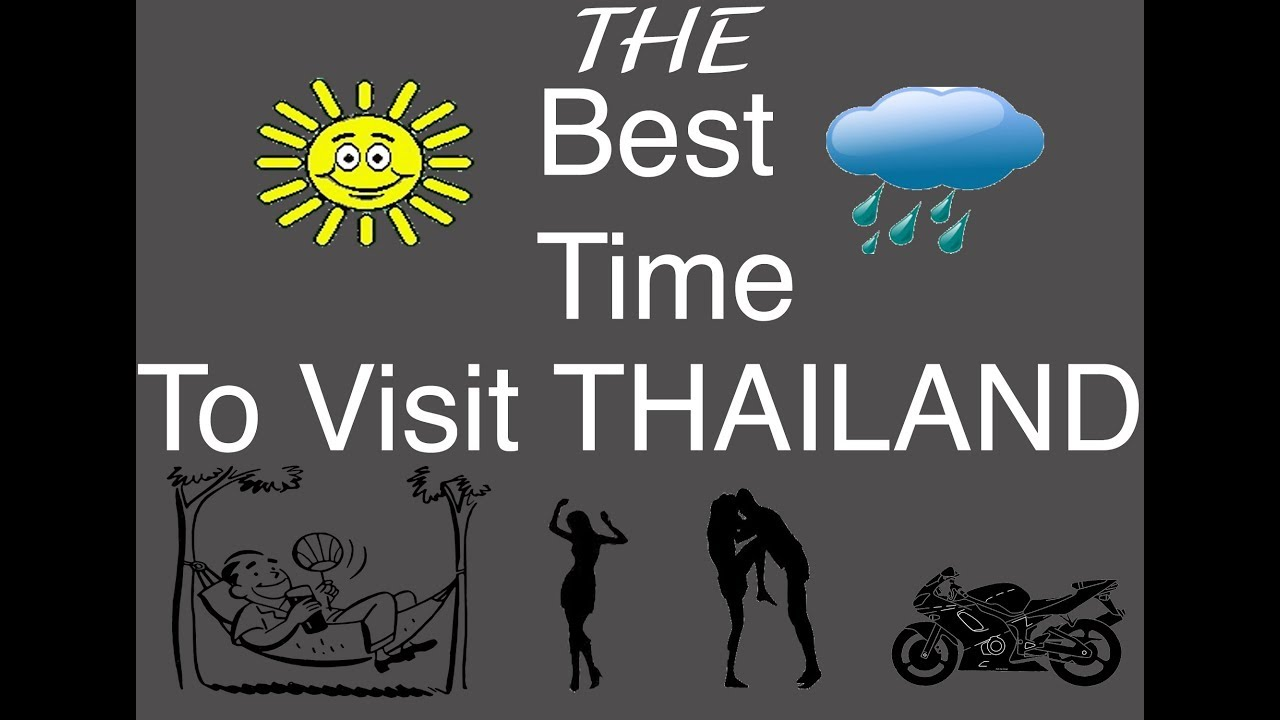 Best Time Of Year To Visit Thailand Youtube