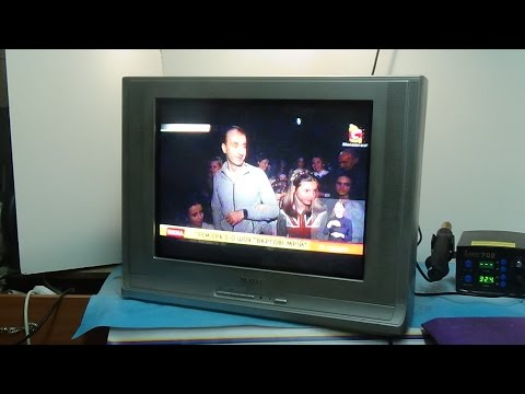 видео: Ремонт телевизора samsung  cs21m16
