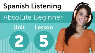 Spanish Listening Practice - Making Plans For The Day In Mexican Spanish