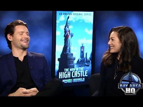 Alexa Davalos & Luke Kleintank talk Geochaching, The Beatles &