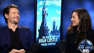 "Alexa Davalos & Luke Kleintank talk Geochaching, The Beatles & ""The Man in The High Castle"""