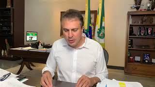 Camilo Santana anuncia central de laudos à distância e compra de equipamentos para hospitais polo