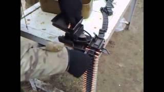 Как заряжают пулеметную ленту  Машинка Ракова