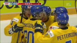 JVM 2016 - Sverige vs Slovakien 6-0