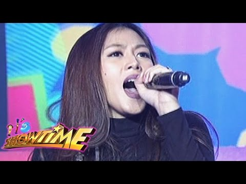 It's Showtime: Alex Gonzaga sings