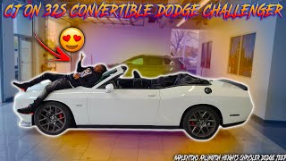 I WENT BACK TO THE DEALERSHIP TO BUY A CONVERTIBLE DODGE CHALLENGER SHAKER