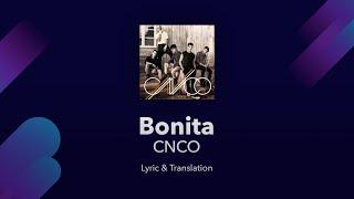 CNCO - Bonita Lyrics English and Spanish - Translation & Subtitles