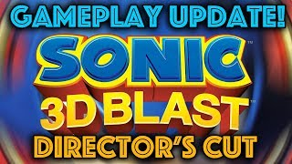 Sonic 3D Director's Cut - Gameplay Update! (60fps)