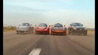 Redline Clip - Race Between Ferrari Carrera GT SLR