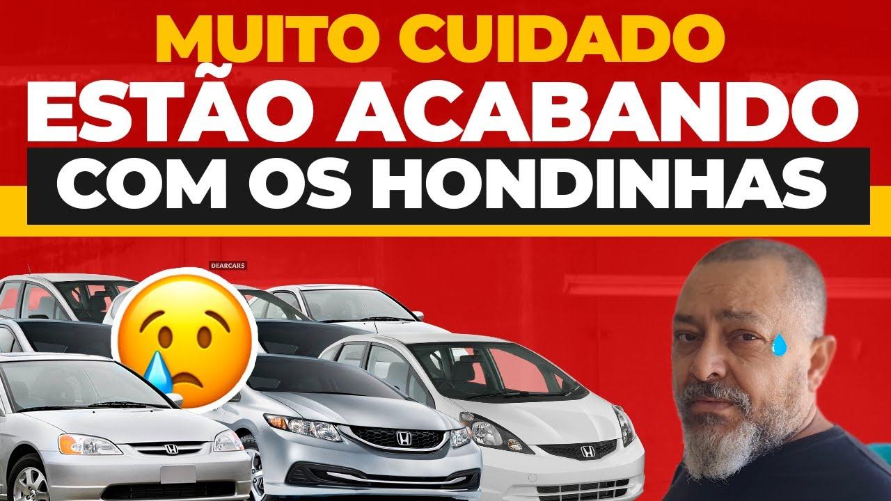 ESTÃO ACABANDO COM OS HONDINHAS !