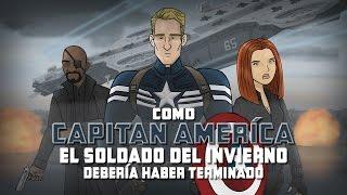 Como El Capitán América y el Soldado del Invierno Debería Haber Terminado
