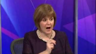 Nicola Sturgeon snp politician bullshitter extraordinaire