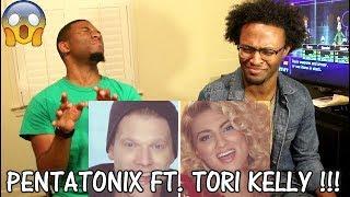 Pentatonix (ft Tori Kelly) - Winter Wonderland/Don't Worry Be Happy [Official Video]  (REACTION)