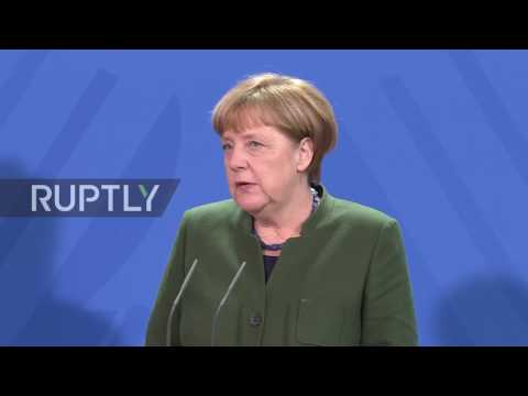 Germany: Fight against terrorism does not justify Trump's travel ban - Merkel