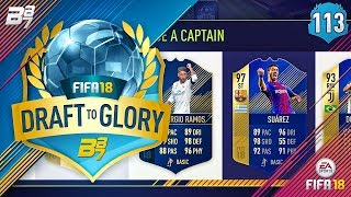 WHAT A HIT SON!! | FIFA 18  DRAFT TO GLORY #113