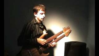 Adam Fulara - The Goldberg Variation No. 9 (J. S. Bach) - doublenecked tapping guitar