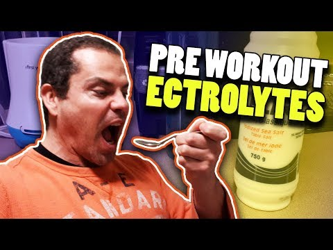Pre Workout Electrolytes - Quick, Easy & Sugar Free!