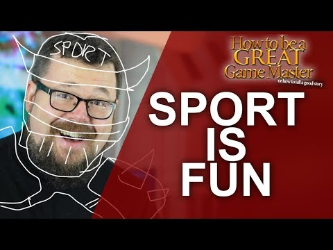 Great GM: Sport and Why you should use it in your RPGs #GMTips