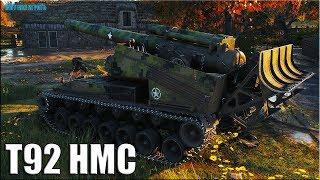 Жесть 9к урона на АРТЕ ✅ World of Tanks Т92 HMC