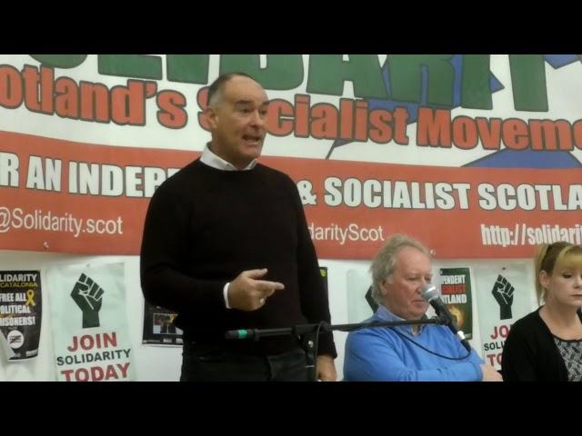 Tommy Sheridan - SNP in Scotland, Corbyn in England & Wales