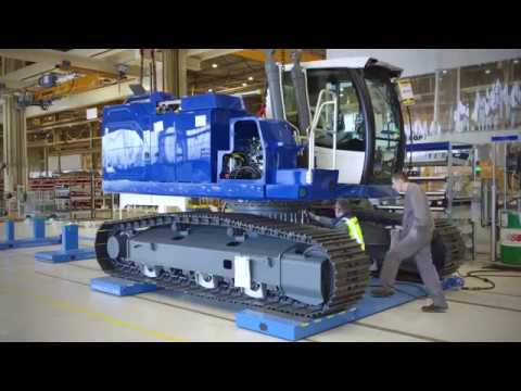 Liebherr - A New Assembly Line For Liebherr-France SAS