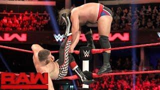 Sami Zayn vs. Rusev - No.1 contender for Intercontinental Championship: Raw, November 07, 2016