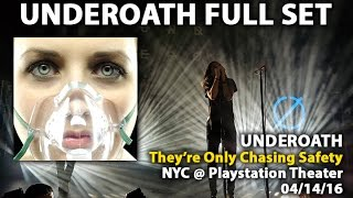 Underoath - FULL SET (They're Only Chasing Safety) - NYC @ Playstation Theatre (04/04/16)