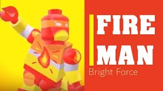 LEGO - FIRE MAN - THE BRIGHT FORCE | KIDZ KLUB