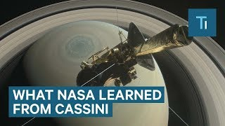 5 biggest discoveries from NASA Cassini-Huygens Saturn mission