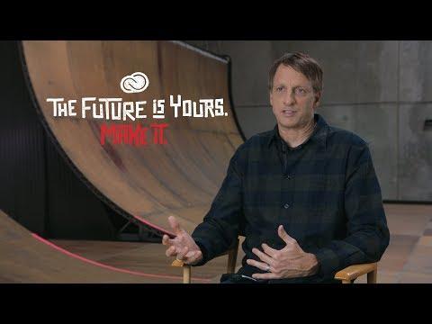 Tony Hawk: What You Won't Learn in School - Adobe Creative Cloud