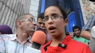 """وقفة للتضامن مع طالبة """"صفر الثانوية"""" احتجاجا على حفظ التحقيقات للمرة الثانية"""