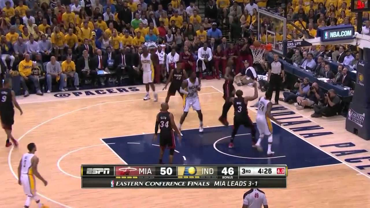 Miami Heat Vs Indiana Pacers Game   Nba Eastern Conference Finals