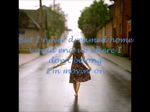 Rascal Flatts - I'm Moving On with lyrics